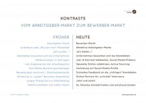 Christoph Hauke: Kontraste - Vom Arbeitgeber zum Bewerber-Markt -page-001